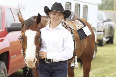 Nevaeh Leager and her horse Bob have same age and personality