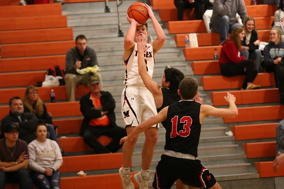Mitchell's Austin Thyne helping raise his team to new heights