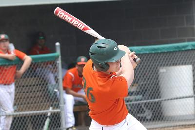 Express sweeps doubleheader from Douglas