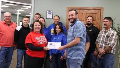 Community helps support school backpack food program