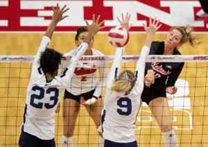 With a new perspective, freshman Madi Kubik has been a vital to Nebraska volleyball's success