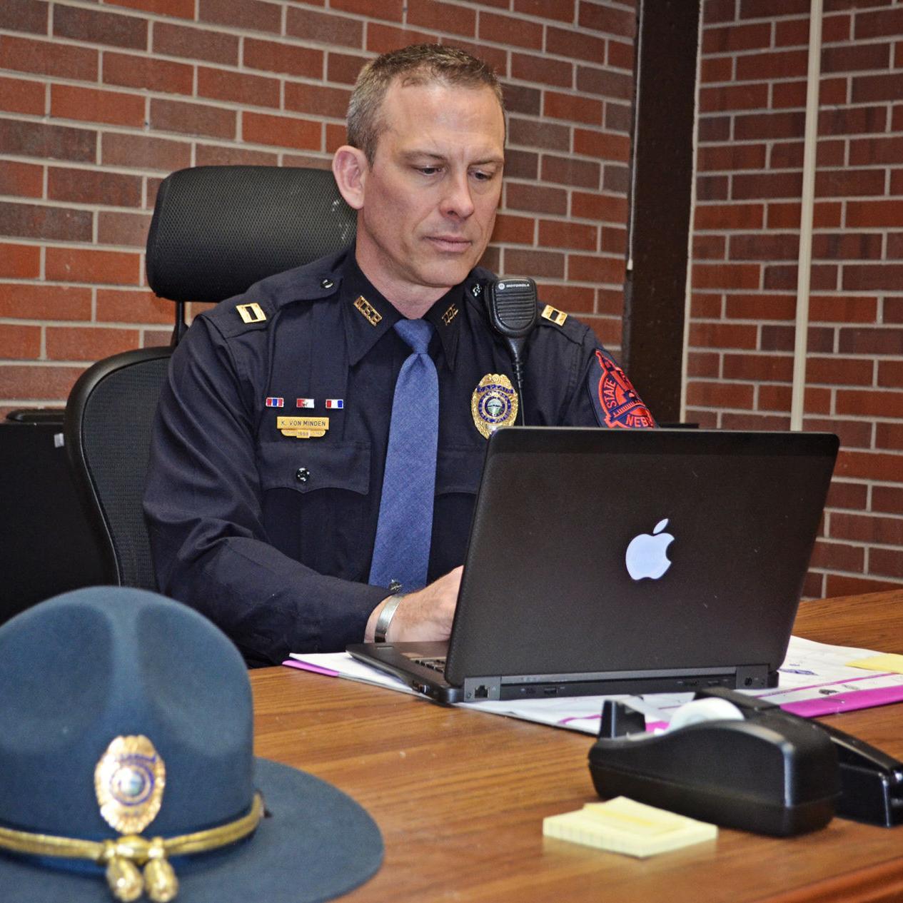 Nebraska State Patrol captain looking to enhance troop's