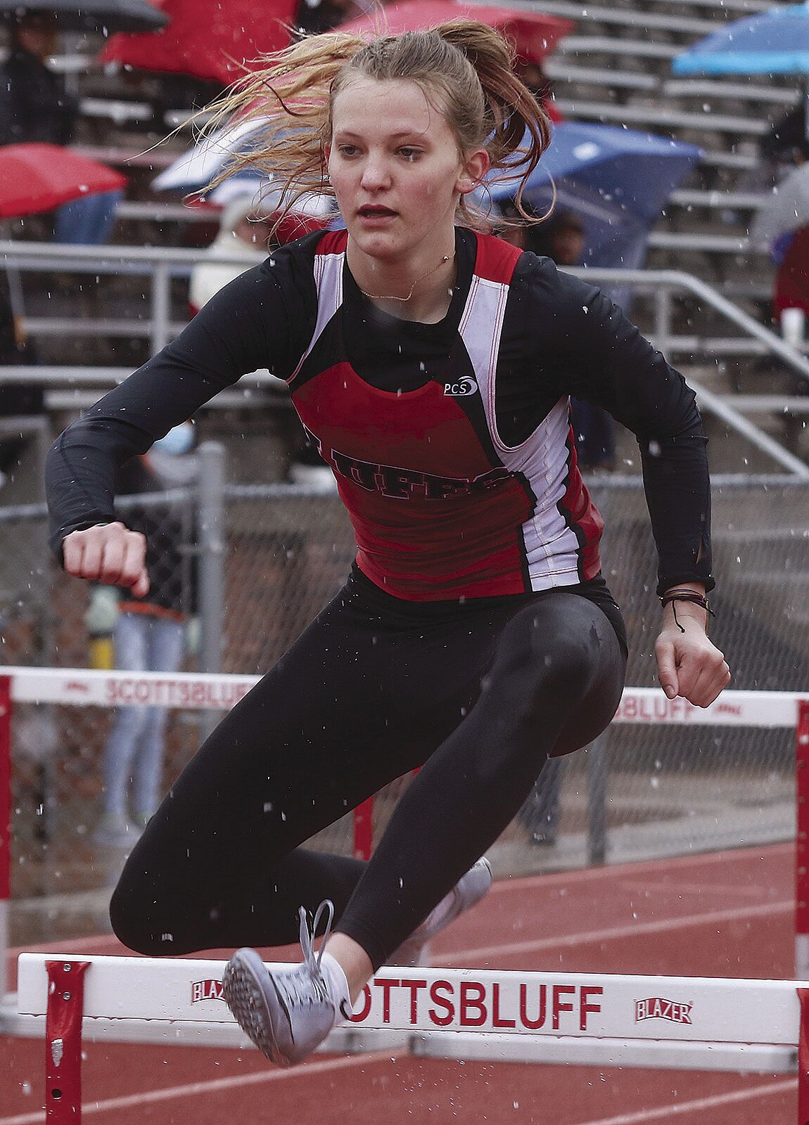 Scottsbluff's Paige Horne quickly making a name for herself in hurdles