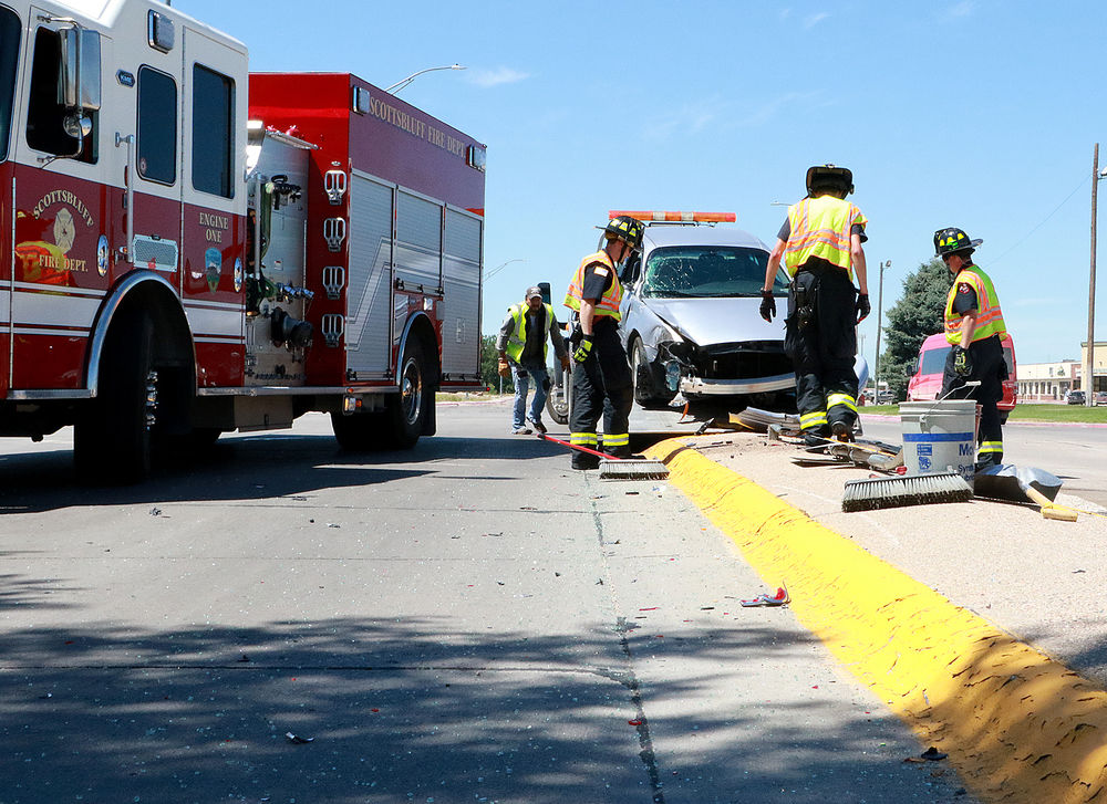 Authorities respond to collision on South Beltlline