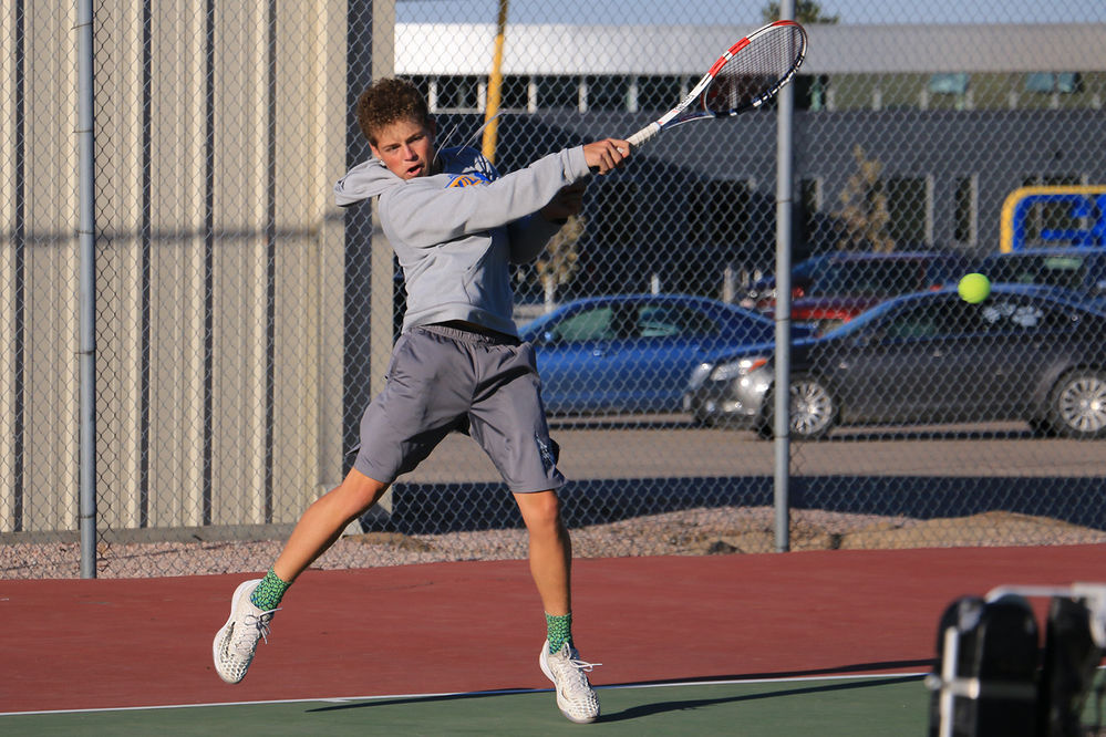 Gering boys tennis headed to state