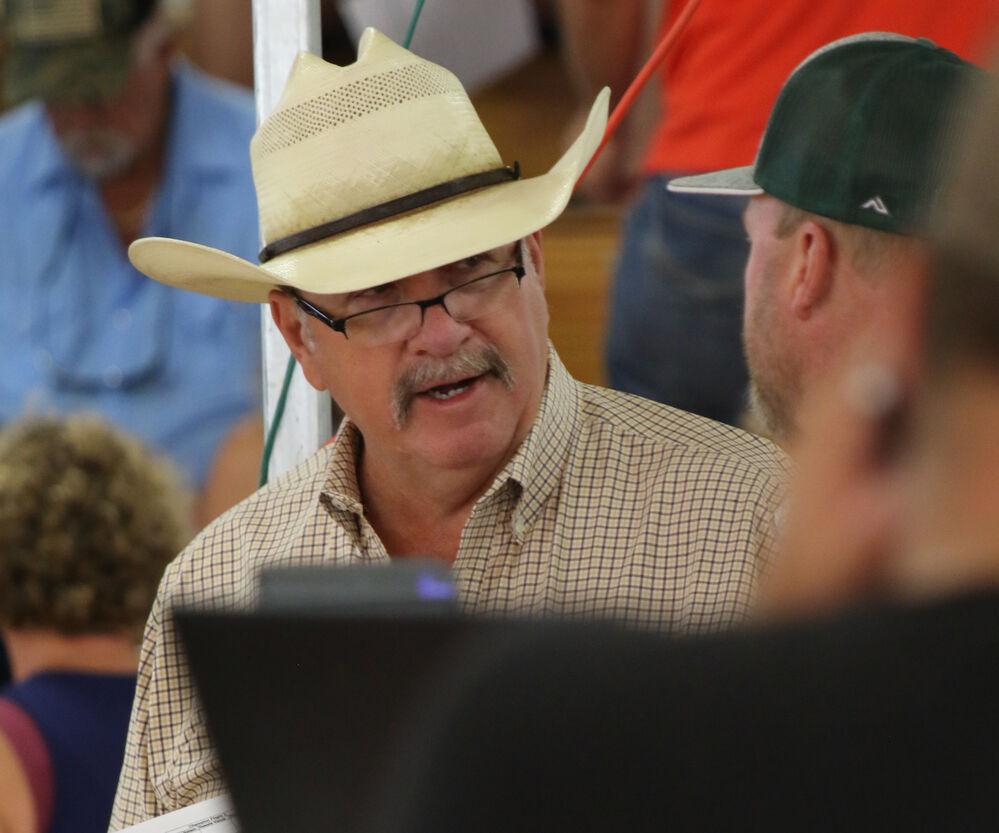 Junior livestock sale concludes the Scotts Bluff County Fair