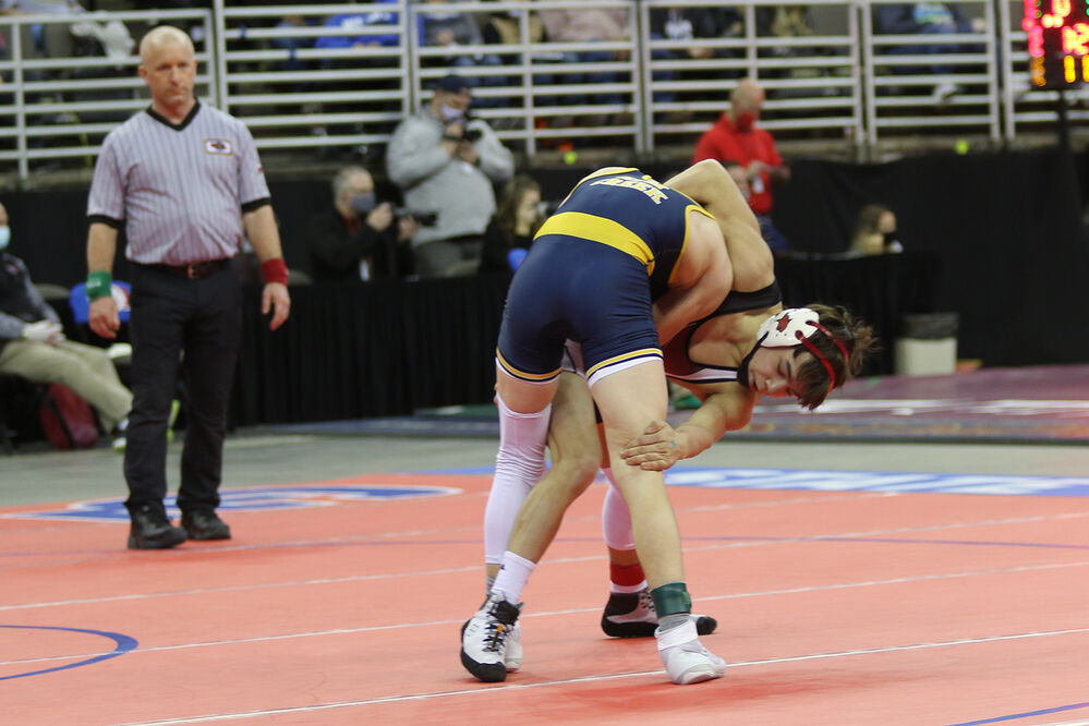 Creel Weber medals at state