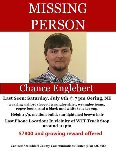 Gering Police share update on missing man Chance Englebert investigation