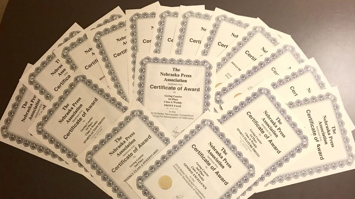 Gering courier named one of the best weekly newspapers in nebraska gering courier named one of the best weekly newspapers in nebraska during npa contest malvernweather Image collections