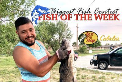 BIGGEST FISH CONTEST: Joshua Garza reels in 36-inch catfish