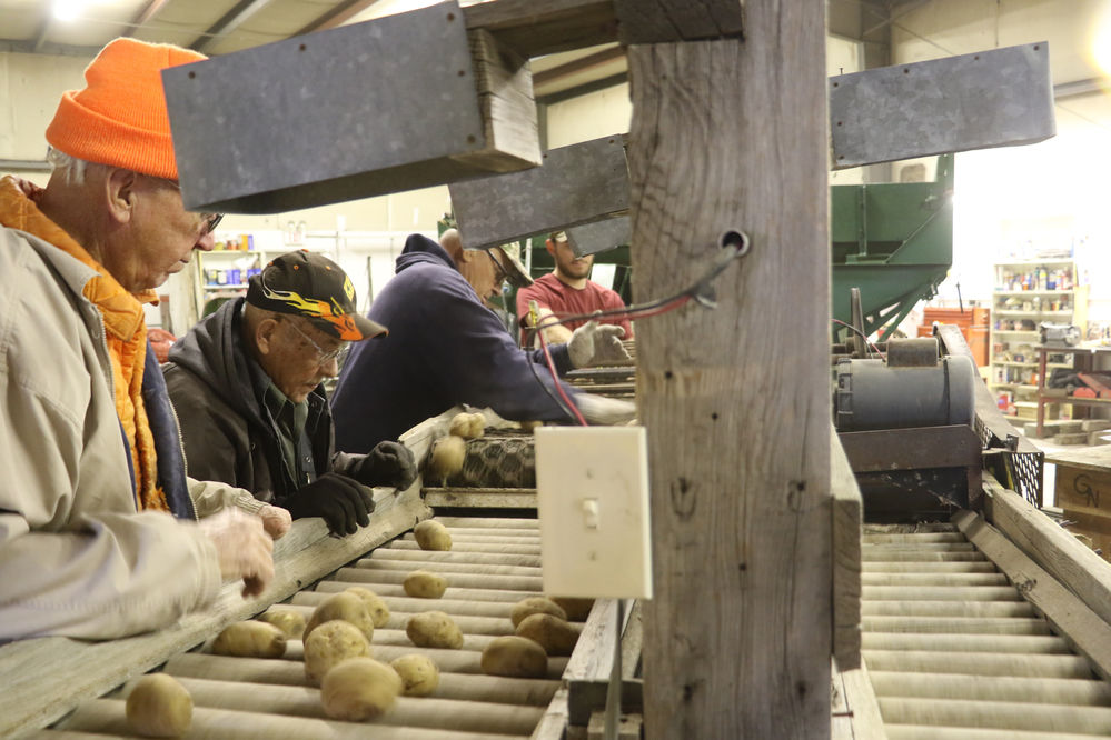 Legacy of the Plains puts 1940s potato production equipment to use