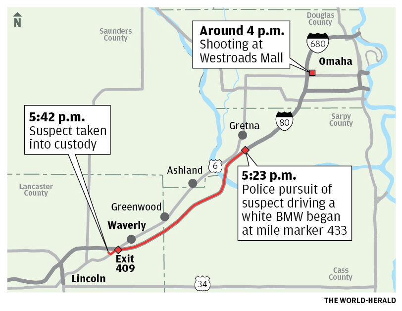 Omaha Police Officer Shot At Westroads Mall Hit In Face Mouth 21 Year Old Man Booked In Jail Crime And Courts Starherald Com