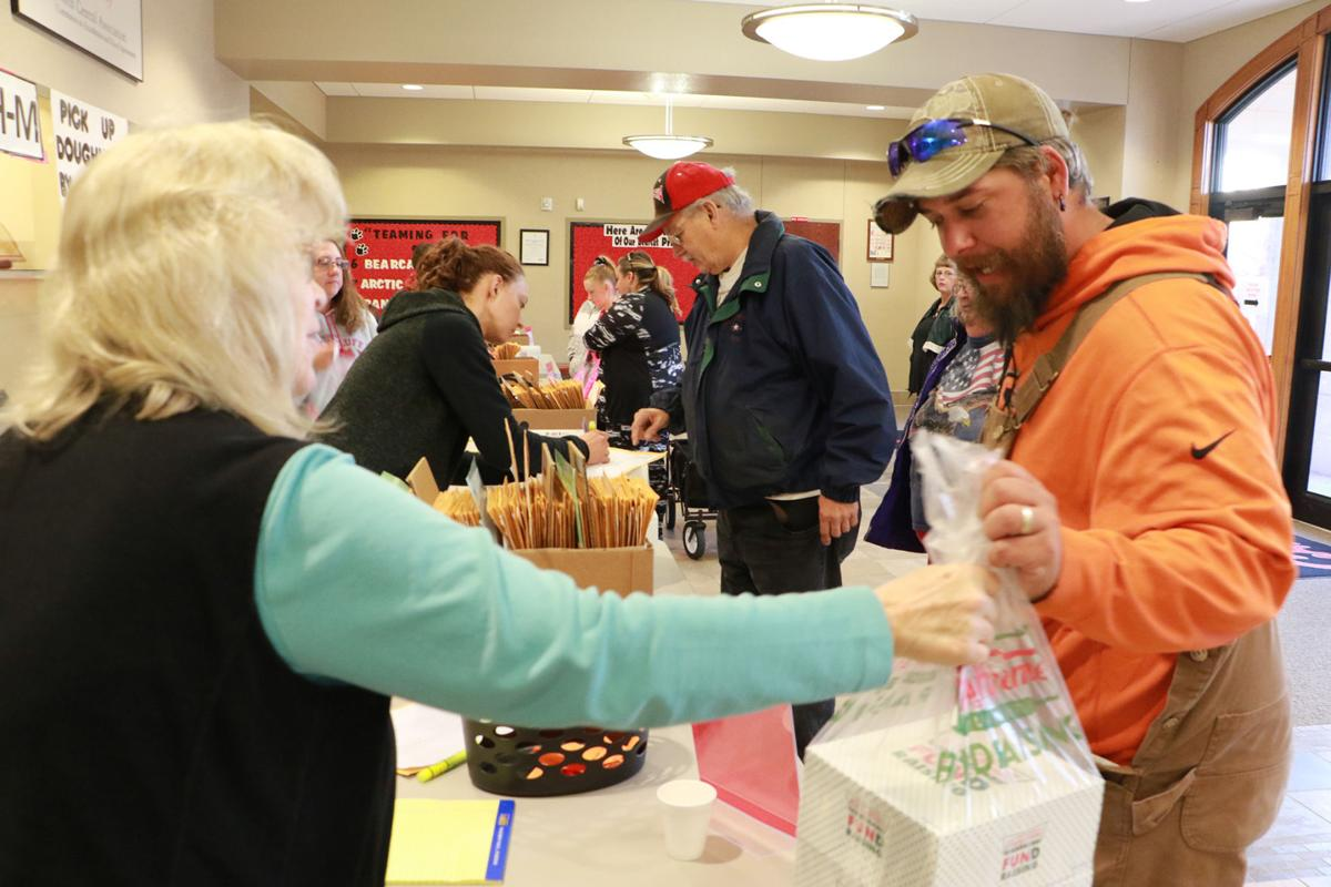 PHOTOS: Bluffs Middle School Krispy Kreme pick up 2019