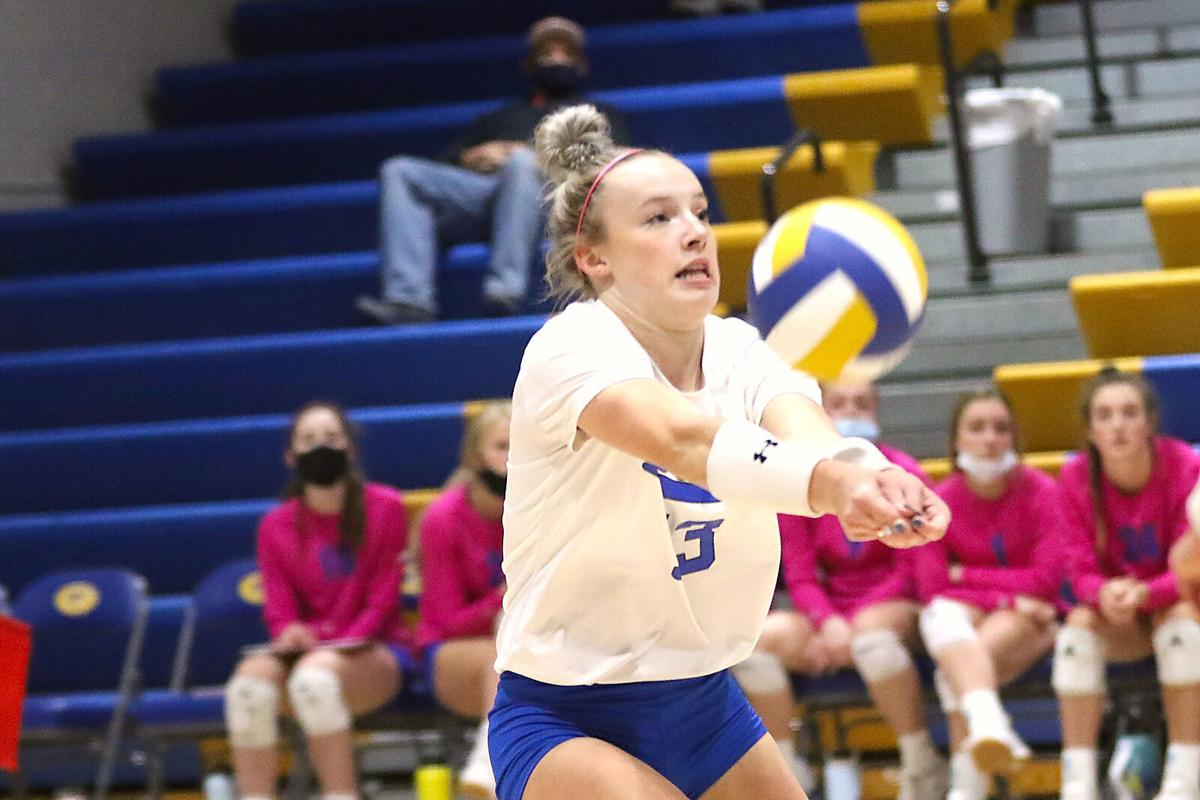 Gering volleyball sweeps Scottsbluff
