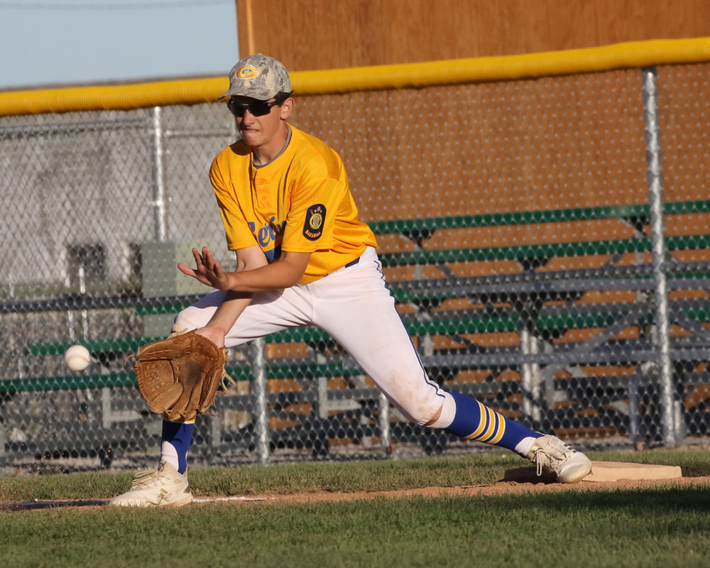 Gering B&C junior baseball team goes 3-0 in pool play, but falls in championship game.
