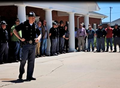 Law enforcement, responders escort family of Nebraska State Patrol trooper killed in collision in solemn ceremony