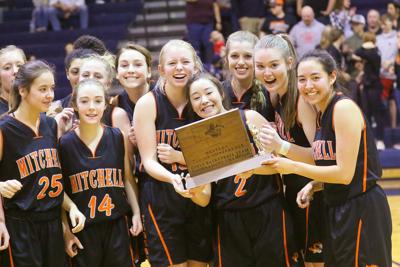 Mitchell girls win fourth straight Western Trails Conference title