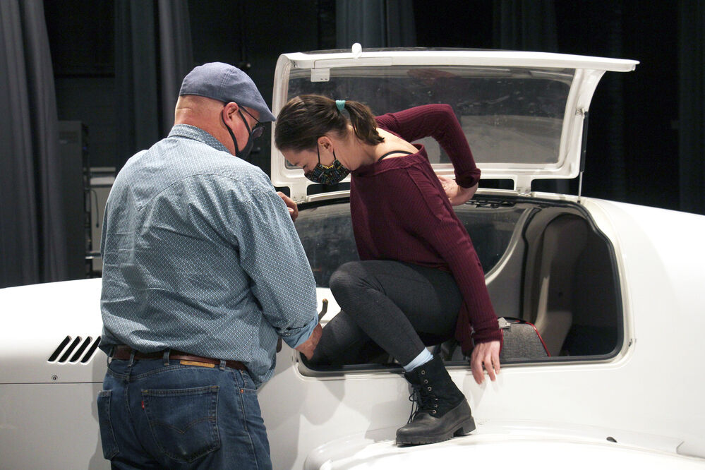 WNCC theater, aviation partner for next performance