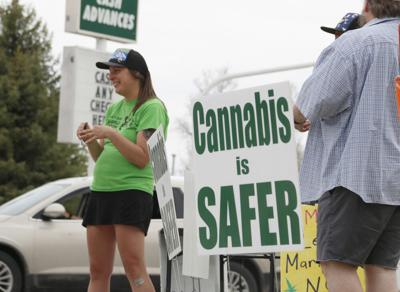 Legal Marijuana NOW party makes pitch to area voters