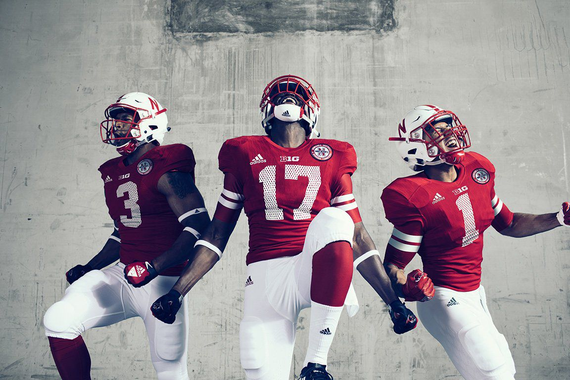 ddd9ad6fd95 Adidas unveils Husker alternate, throwback uniforms for 2017 game ...