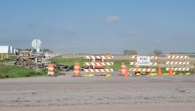 Construction begins on Jefferson Road