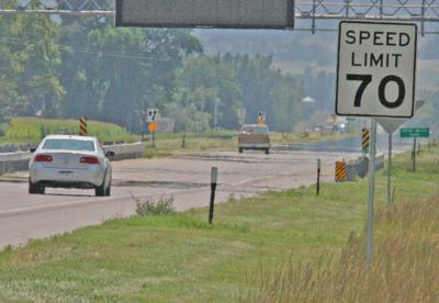 Speed limit jumps to 70 mph on Highways 71, 26 as higher speed limits put into place