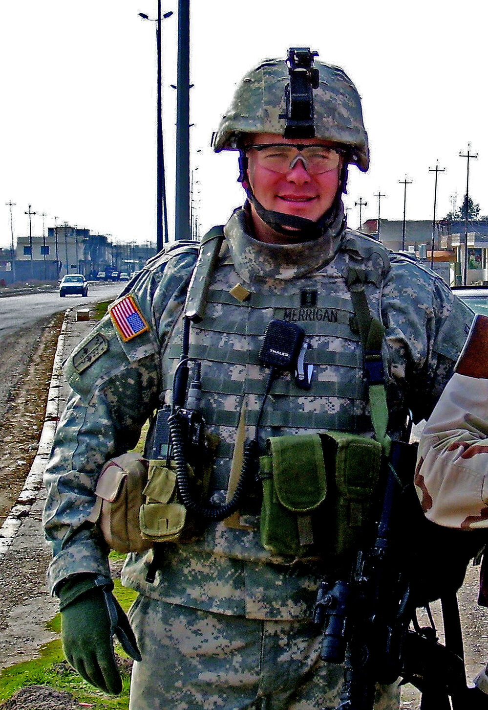 Couple serves deployment  in Iraq at same time
