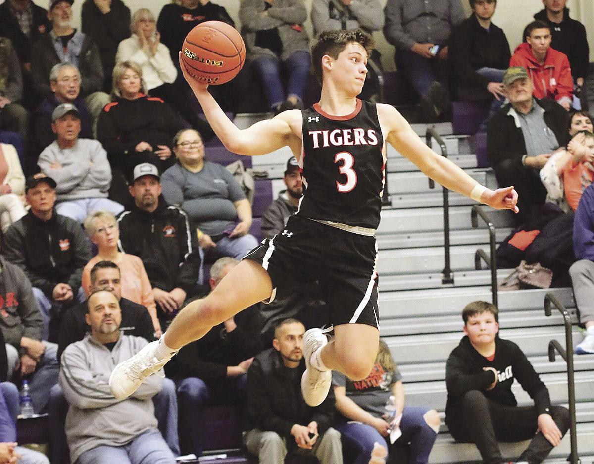 Mitchell sophomore Austin Thyne named Western Trails Conference MVP