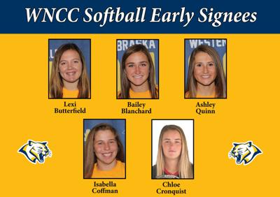 WNCC softball signs five during early signing period