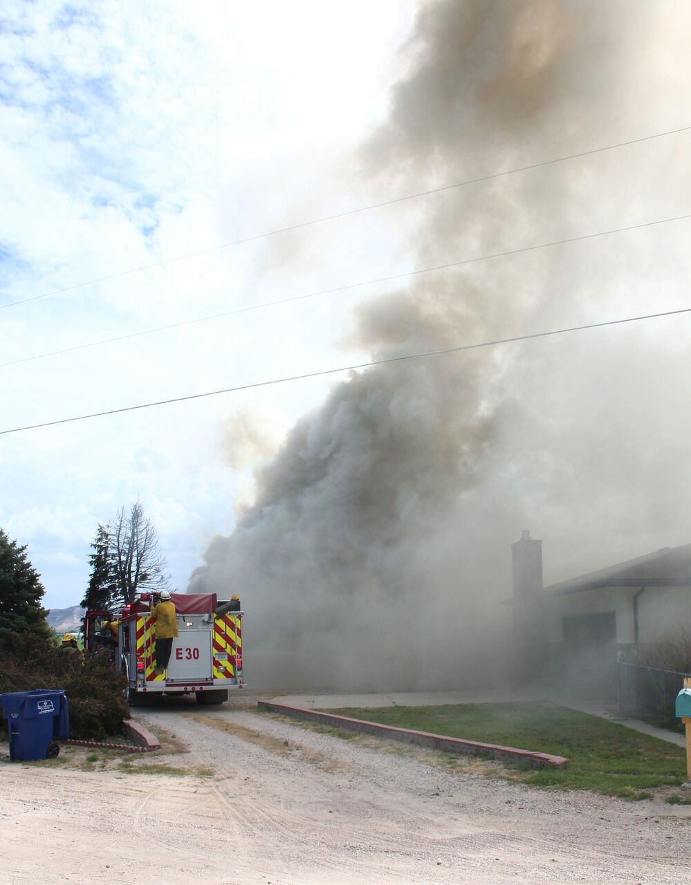Kids called heroes after trying to put out fire that destroyed garage
