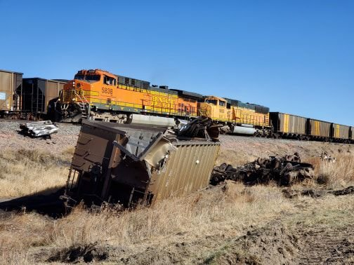 Trains back to running after Friday derailment