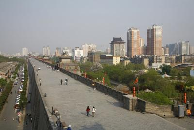Xi'an City Wall, Shanxi