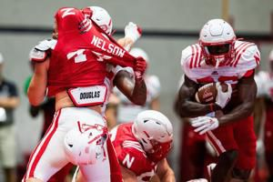 'Press! Press! Press!' Ryan Held shares what he watches for in Husker running backs