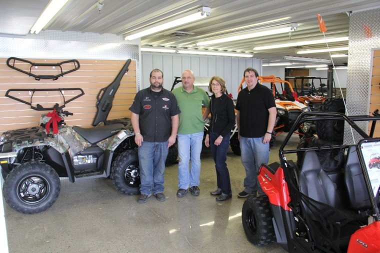 polaris dealership opens in scottsbluff business. Black Bedroom Furniture Sets. Home Design Ideas