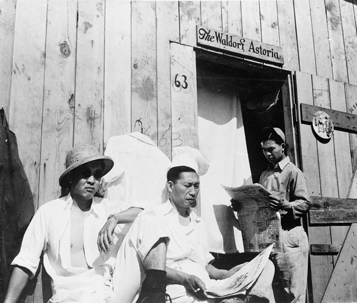 Japanese Americans imprisoned by the federal government
