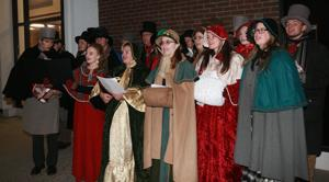 Frontier Carolers bring Christmas music to Torrington streets