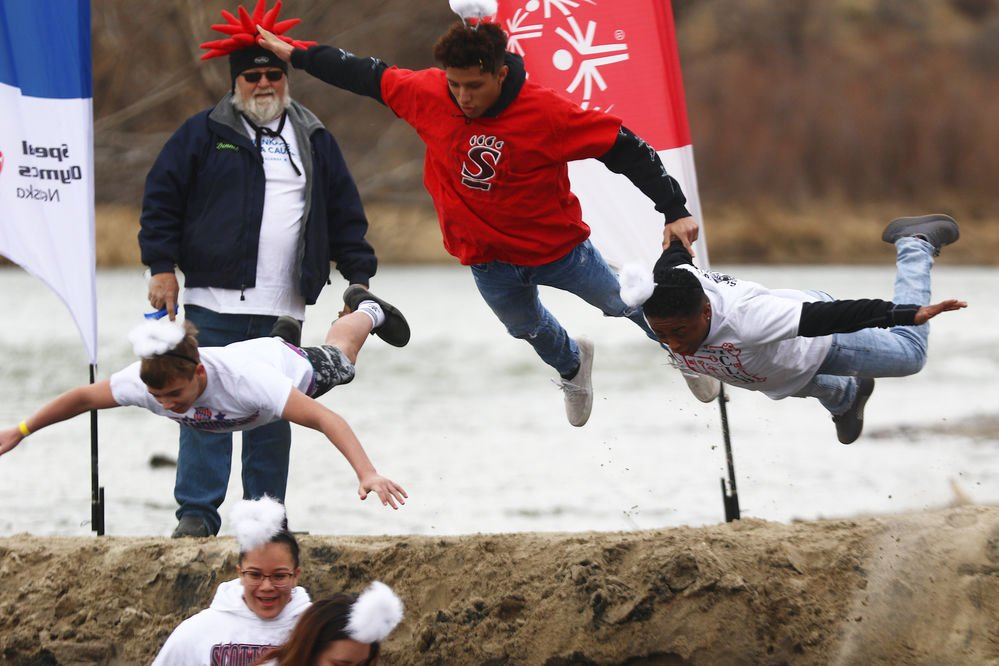 Polar Plunge raises $34,000, second highest total over 9 years