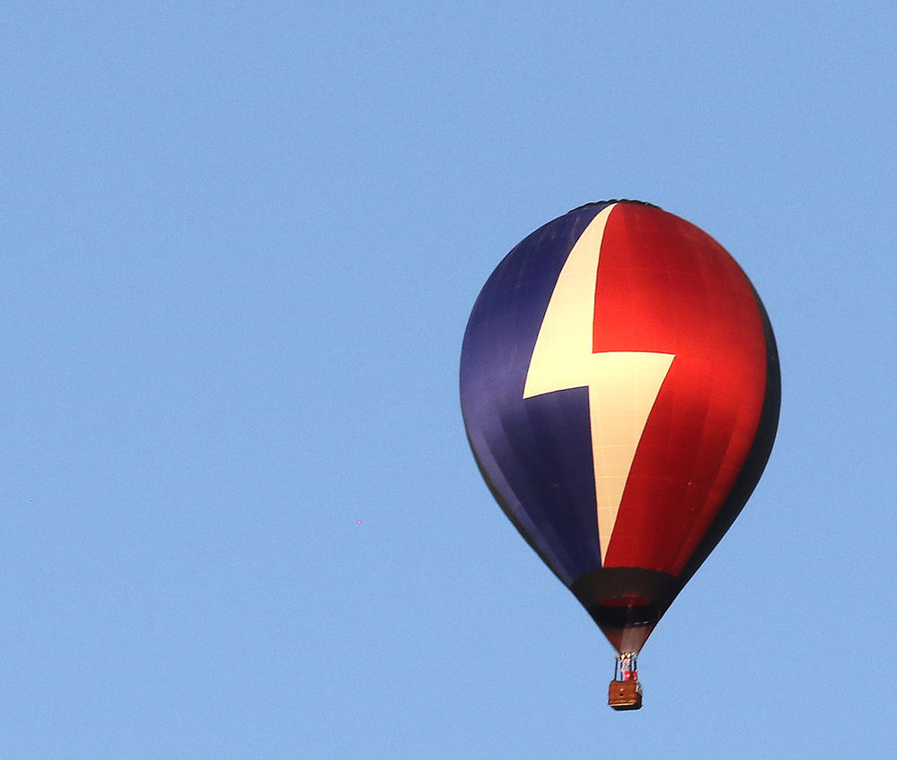 Balloonist Jim Cusick strategizes for competition during Hot Air Balloon Championships