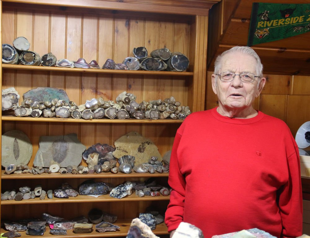 Rock hobbyist finds joy in the hunt