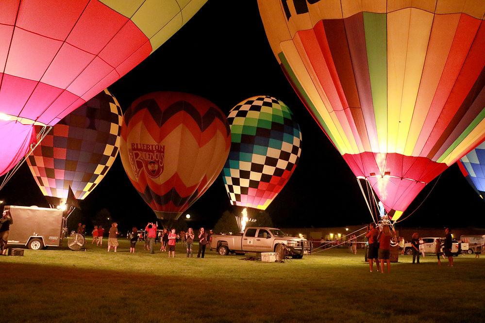 Community marvels at Balloon Night Glow
