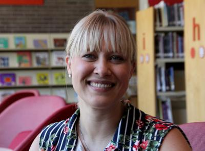Library director Erin Aschenbrenner takes over her new position