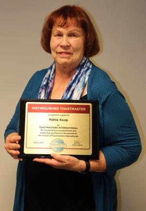 Local woman trying to revive Toastmasters