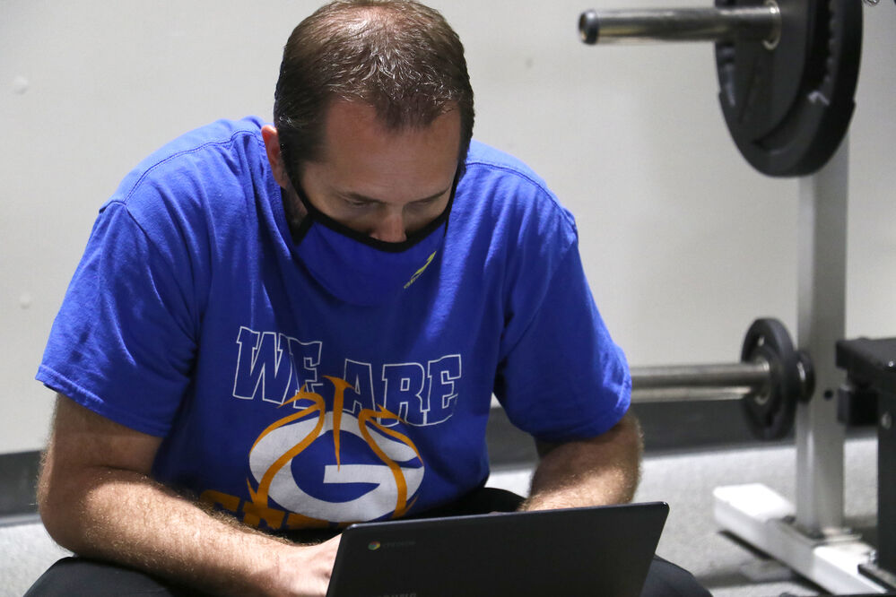 PE teacher Adam Freeburg on his way to completing his 14th year at GHS