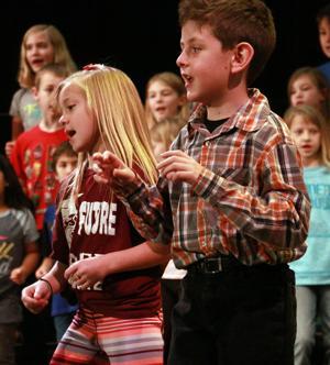 Torrington third-graders put on Christmas musical