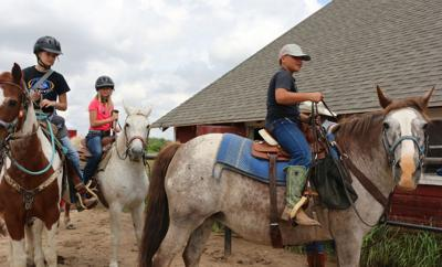 Museum trail ride showcases local history