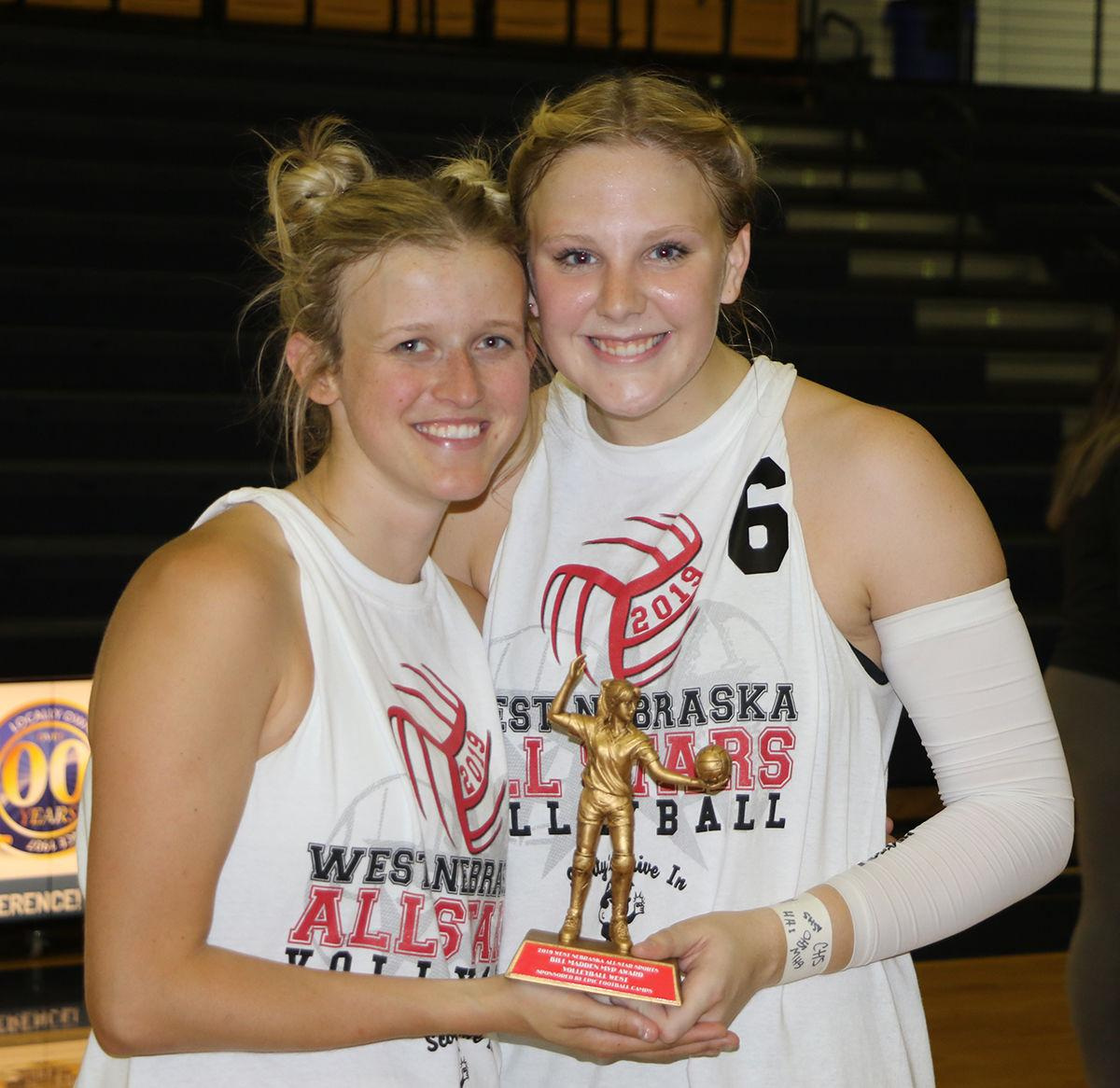 Photos: West Nebraska All-Star Volleyball Match 2019