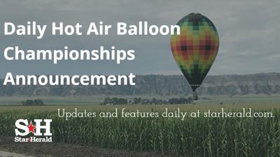 Balloon Championship Daily Update - Public viewing at Scottsbluff soccer field