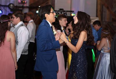 Area students celebrate prom event