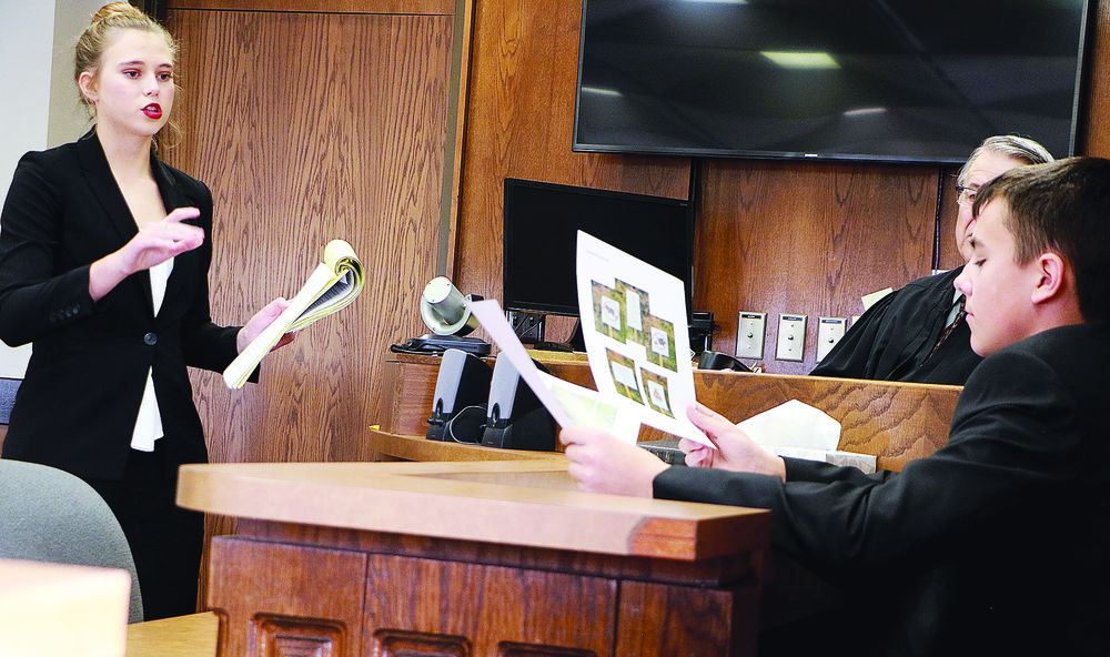 Behind  the bench: Sidney, Gering compete at district mock trial