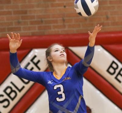 Gering volleyball team holds high hopes for success